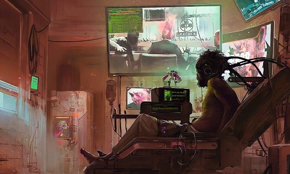 Cyberpunk 2077 Braindance
