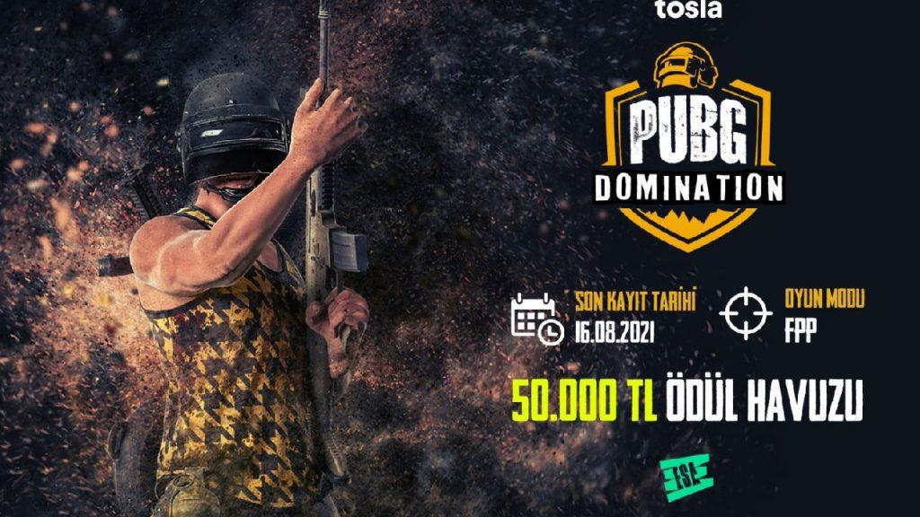 ESA x Tosla PUBG Domination Turnuvası Başlıyor