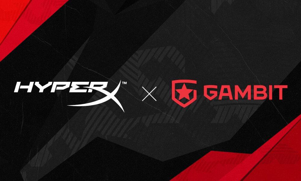 Gambit Esports, HyperX ile ortaklığını duyurdu