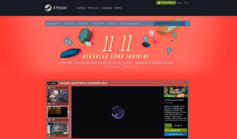Steam'de Bekarlar Günü İndirimleri Başladı