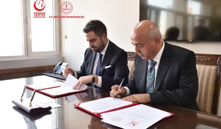 TESFED, Milli Eğitim Bakanlığı ile İş Birliği Protokolü İmzaladı