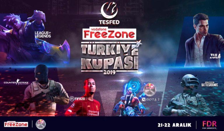 TESFED Vodafone FreeZone Türkiye Kupası duyuruldu